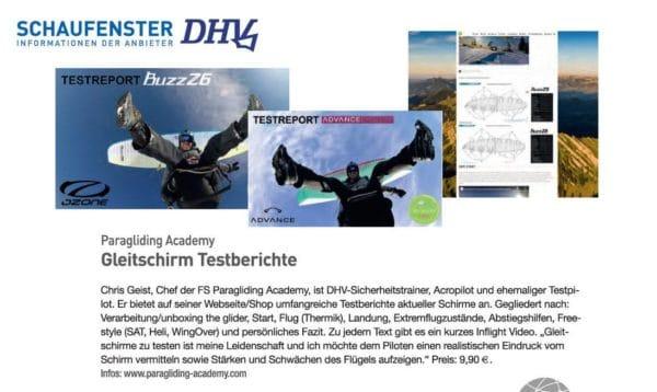 DHV Info ChrisGeist Testberichte 600x358 - Advance Epsilon9 Testbericht DEUTSCH