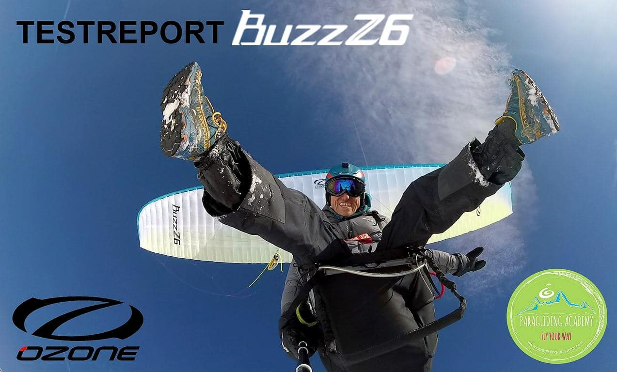 Ozone BuzzZ6 Testreport - Gleitschirm Performance Video