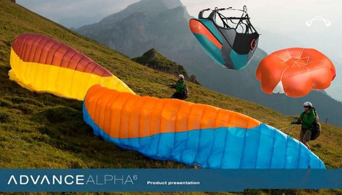 "Set Alpha6 - Safety Fly Set ""Performance""- EN/LTF A"