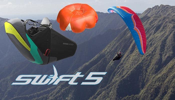 """Set Swift5 - Hike&Fly Set """"Swift5""""- EN/LTF B"""