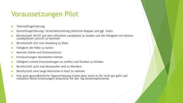 Voraussetzungen Pilot XC 600x339 - Dolomiten XC Tour