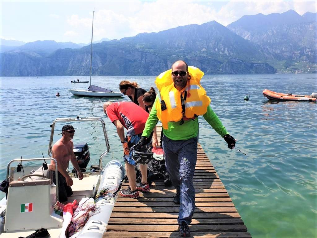 Gleitschirm Sicherheitstraining Gardasee S7 2019 - Sicherheitstraining S7 - Open Water Diver